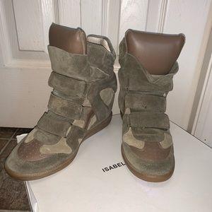 Isabel Marant wedgie sneaker